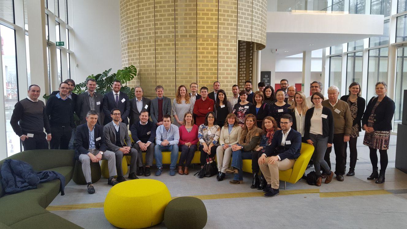 Rencontre avec les partenaires du projet européen smart city REMOURBAN